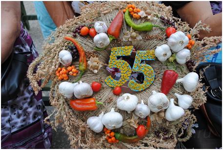 Празднование 55-летия образования Жирновского района.